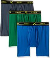 Hanes Men's Ultimate 3-Pack X-Temp Performance Stretch Boxer Briefs