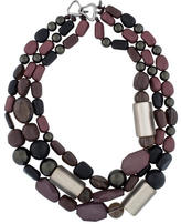 Alexis Bittar Bead & Lucite Multi-Strand Necklace