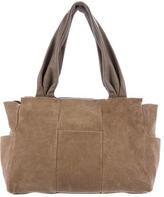 Brunello Cucinelli Bicolor Leather Shoulder Bag