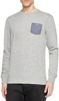 Sovereign Code Smooth Contrast Pocket Sweatshirt