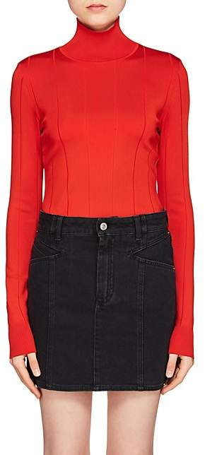 Givenchy Women's Rib-Knit Turtleneck - Red