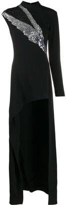 Just Cavalli Sequin Detail Maxi Dress