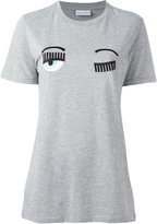 Chiara Ferragni Flirting long T-shirt - women - Cotton/Polyester - M