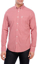 Ben Sherman Gingham Button-Down Sport Shirt