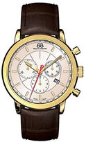 88 Rue du Rhone Men's Double 8 Origin Leather Chronograph Watch
