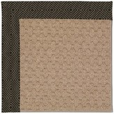 Zeppelin Tufted Magma Indoor / Outdoor Use Area Rug Longshore Tides Rug Size: Rectangle 9' x 12'
