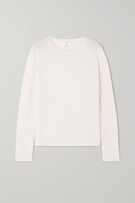 Allude Ribbed Cashmere Sweater - Cream