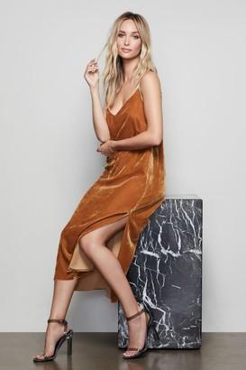 Ga Sale The Slip City Velvet Dress