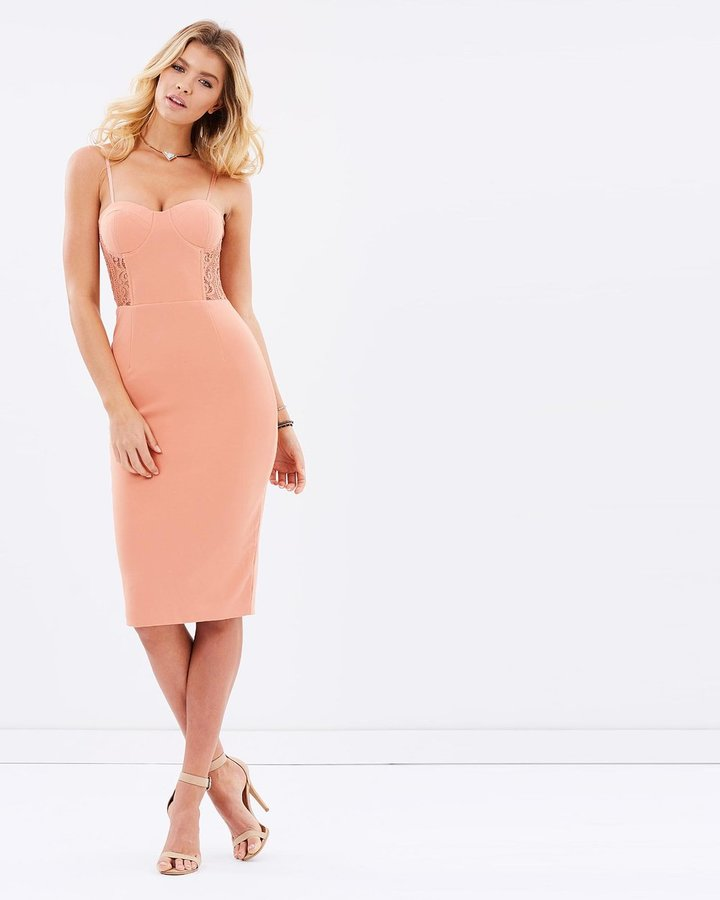 Adianna Lace Dress - Pink