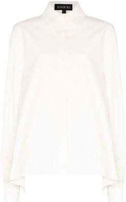 Anouki oversized open-back shirt