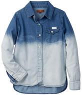 7 For All Mankind Dip Dye Shirt (Little Girls)