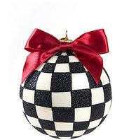 Mackenzie Childs MacKenzie-Childs Courtly Check Glass Ball Ornament