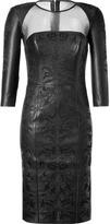 Jitrois Black Mathilde Dress