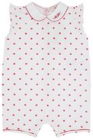 Armani Junior Starfish Frill Sleeve Bodysuit
