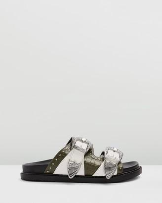 Topshop Peru Wide Fit Sandals