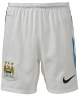 Manchester City FC Official 2015/16 Home Shorts