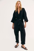 The Endless Summer OOTD Jumpsuit by at Free People, Black, XS