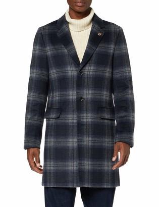 Scotch & Soda Jacket Classic Single Breasted Coat Men's Multicolor Medium
