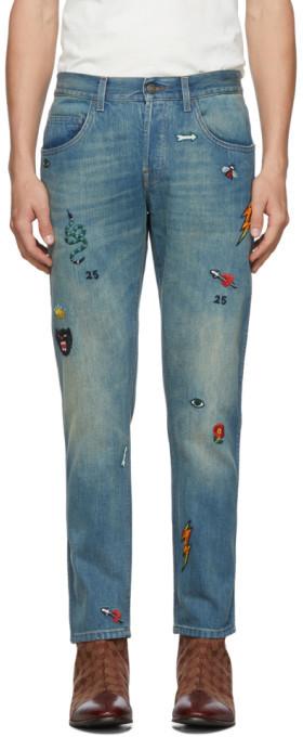 b5c2d8c55 Gucci Blue Men's Jeans - ShopStyle