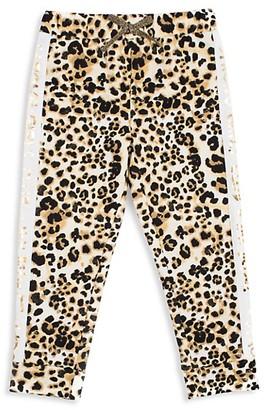 Betsey Johnson Little Girl's Cotton-Blend Jogger Pants