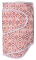 Miracle Blanket Swaddle in Coral Lattice