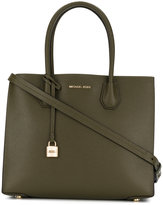 MICHAEL Michael Kors lockpad tag tote - women - Leather - One Size