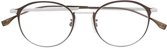 HUGO BOSS Oval Full-Rimmed Eyeglasses