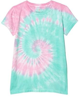 crewcuts by J.Crew Cool Tie-Dye T-Shirt (Toddler/Little Kids/Big Kids) (Tie-Dye Multi B) Girl's Clothing