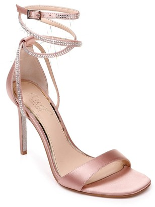 Badgley Mischka Shaylee Ankle Wrap Heeled Sandal