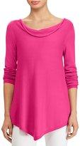 Lauren Ralph Lauren Cotton-Blend Handkerchief Sweater