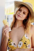 Beach Riot Charlie Printed Bikini Top