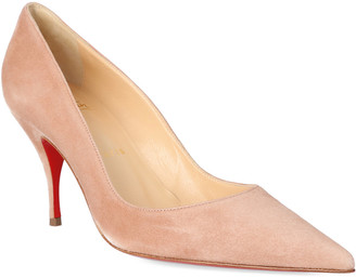 Christian Louboutin Clare 80 Suede Pump