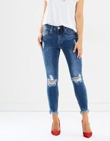 DECJUBA Brodie Mullet Hem Jeans