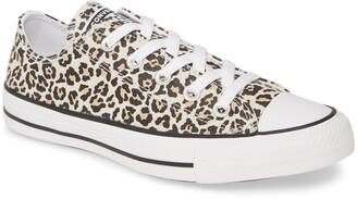 Converse Chuck Taylor(R) All Star(R) Leopard Print Low Top Sneaker