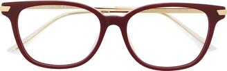 Bottega Veneta Square Optical Glasses