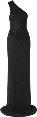 Naeem Khan One-shoulder Beaded Tulle Gown