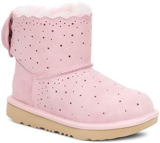 UGG Mini Bailey Bow II Starry Lite Genuine Shearling Bootie
