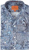 Simon Carter Map Print Shirt