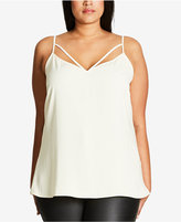 City Chic Trendy Plus Size Strappy Camisole