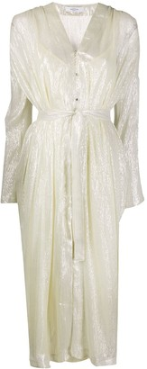 Roseanna Facette Mercy lurex dress
