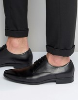 Aldo Mathurin Derby Shoes In Black Leather