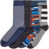 Jack & Jones 4 Pack Striped Pattern Socks