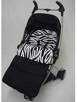 Animal Print Footmuff/Cosy Toes Compatible with Pushchiar Zebra