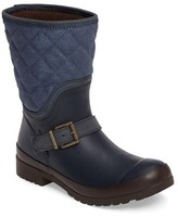 Sperry Women's Walker Gray Canvas Quilt Boot
