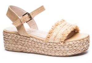 Chinese Laundry Ziba Espadrille Flatform Sandals Women's Shoes
