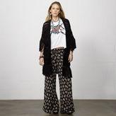 Denim & Supply Ralph Lauren Floral Smocked Wide-Leg Pant
