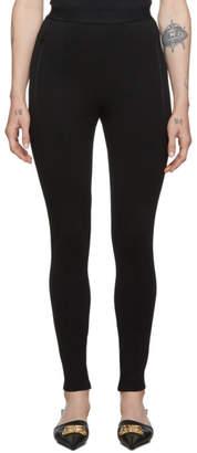 Balenciaga Black Logo Jogger Lounge Pants