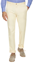 James Tattersall Solid Flat Front Trousers