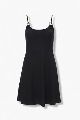 Forever 21 Ribbed Knit Skater Dress