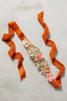 Anthropologie Beaded Flora Belt